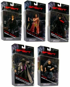 The Spirit Mezco Toyz Series 1 Set of 5 Action Figures