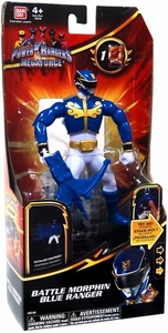 Power Rangers Megaforce Deluxe Action Figure Battle Morphin Blue Ranger