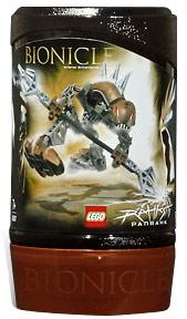 LEGO Bionicle RAHKSHI Figure #8587 Panrahk [Brown]
