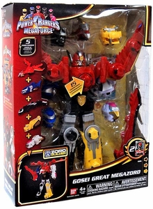 Power Rangers Megaforce Deluxe Megazord Gosei Great Megazord