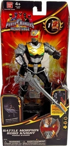 Power Rangers Megaforce Deluxe Action Figure Battle Morphin Robo Knight