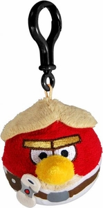 Angry Birds STAR WARS Backpack Clip-On Plush Luke Skywalker
