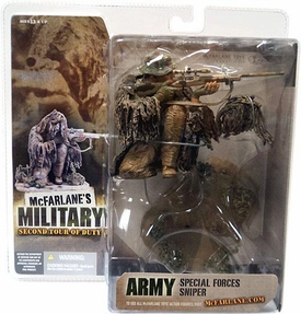 McFarlane Toys Military Soldiers Series 2 (2nd Tour of Duty) Action Figure Special Forces Sniper [Caucasian]
