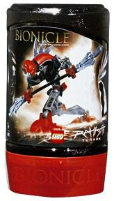 LEGO Bionicle RAHKSHI Figure #8592 Turahk [Red]