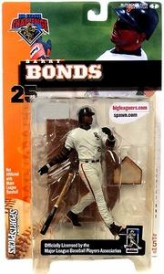 McFarlane Toys MLB Sports Picks Club Exclusive Big League Challenge Action Figure Barry Bonds Damaged Package, Mint Contents!
