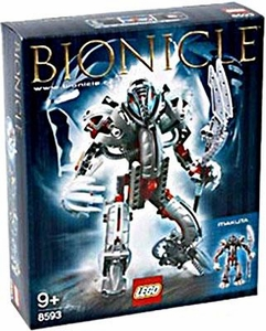 LEGO Bionicle Set #8593 Makuta Damaged Package, Mint Contents!