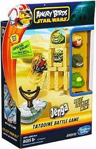 Angry Birds Star Wars Jenga Launcher TATOOINE Battle Game