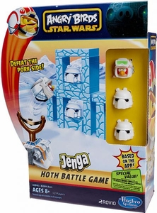 Angry Birds Star Wars Jenga Launcher HOTH Battle Game BLOWOUT SALE!