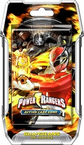 Power Rangers Action Card Game Guardians of Justice Booster Pack