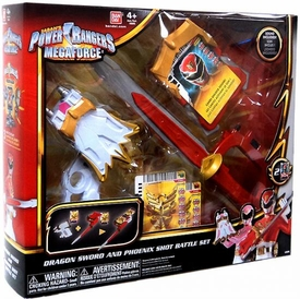 Power Rangers Megaforce Deluxe Battle Gear Dragon Sword & Phoenix Shot