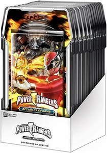 Power Rangers Action Card Game Guardians of Justice Booster Box [15 Packs]