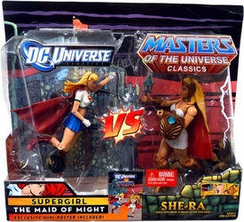 DC Universe & Masters of the Universe Classics Action Figure 2-Pack Supergirl Vs. She-Ra
