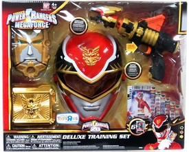 Power Rangers Megaforce EXCLUSIVE DELUXE Training Set Red Ranger