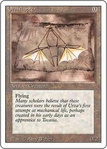 Magic the Gathering Revised Edition Single Card Uncommon Ornithopter