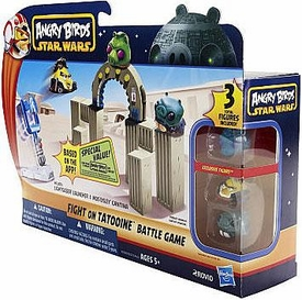 Angry Birds Star Wars Fight On Tatooine Palace Battle Game