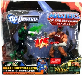 DC Universe & Masters of the Universe Classics Action Figure 2-Pack Green Lantern Vs. Zodac