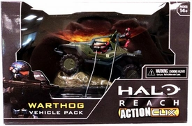 Halo Reach ActionClix Trading Miniature Figure Game Warthog Vehicle Pack