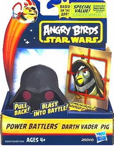 Angry Birds STAR WARS Power Battlers Bird Battler Darth Vader