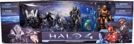 Halo 4 McFarlane Toys Series 1 Action Figure 5-Pack Collector Box Set [Master Chief, Cortana, Orange Spartan, Watcher & Knight