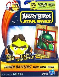 Angry Birds STAR WARS Power Battlers Bird Battler Han Solo