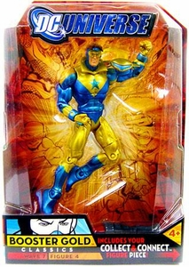 DC Universe Classics Series 7 Action FigureBooster Gold {With Collar} [Build Atom Smasher Piece!]