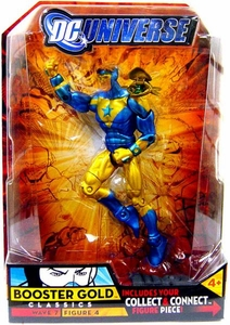 DC Universe Classics Series 7 Action FigureBooster Gold {NO Collar Variant} [Build Atom Smasher Piece!]