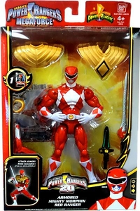 Power Rangers Megaforce Deluxe Action Figure Armored Mighty Morphin Red Ranger