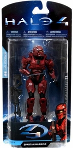 Halo 4 McFarlane Toys Exclusive Series 1 Action Figure RED Spartan Warrior