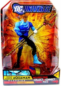 DC Universe Classics Series 7 Action FigureAquaman {Blue Outfit} [Build Atom Smasher Piece!]