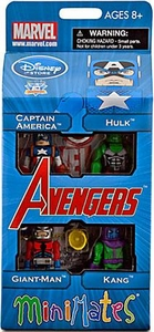 Diamond Select Toys Marvel Minimates Exclusive 4-Pack Avengers #1 [Captain America, Hulk, Giant-Man & Kang]