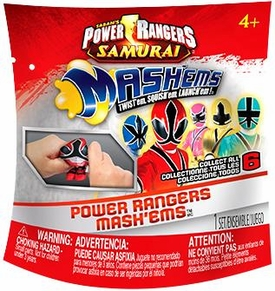 Power Rangers Samurai Squishy Mini Figure Mash'ems [Random Pack]