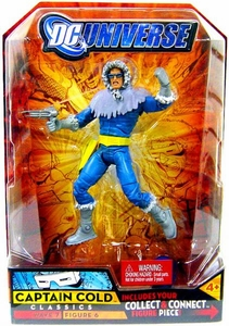 DC Universe Classics Series 7 Action FigureCaptain Cold [Build Atom Smasher Piece!]