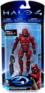 Halo 4 McFarlane Toys Exclusive Series 2 Action Figure RED Spartan Warrior