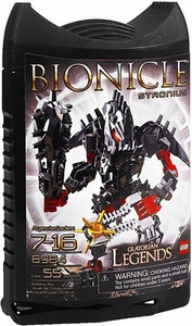 LEGO Bionicle Glatorian Legends Set #8984 Stronius [Black]