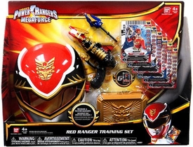Power Rangers Megaforce Basic Training Set Red Ranger