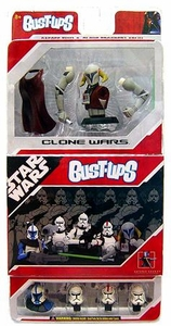 Star Wars Bust-Ups Clone Wars 5 Pack Clone Troopers & Saesee Tiin