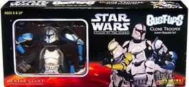 Star Wars Bust-Ups Episode II Attack of the Clones Clone Trooper Set of 4