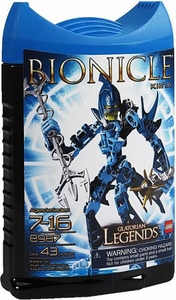 LEGO Bionicle Glatorian Legends Set #8987 Kiina [Blue]