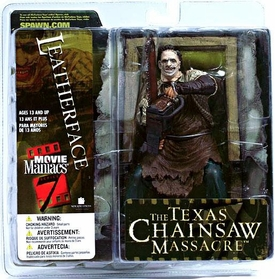 McFarlane Toys Movie Maniacs Series 7 Action Figure Leatherface [Texas Chainsaw Massacre]