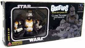 Star Wars Gentle Giant Bust-Ups Micro Bust Model Kits Exclusive Army Builder Set of 4 Clone Troopers