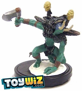 World of Warcraft Collectible Miniatures Game Core Set Single Figure Frostmane Troll