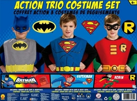 DC Comics Action Trio Costume Set