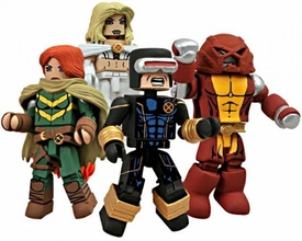 Diamond Select Toys Marvel Minimates 2012 SDCC San Diego Comic Con Exclusive 4-Pack AVX: Avengers Vs. X-Men
