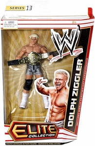 Mattel WWE Wrestling Elite Series 13 Action Figure Dolph Ziggler [World Heavyweight Championship Belt]