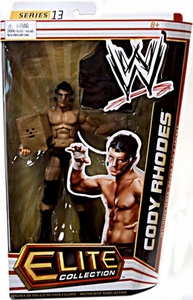 Mattel WWE Wrestling Elite Series 13 Action Figure Cody Rhodes [Mask, Paper Bag & Jacket]