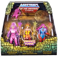 He-Man Masters of the Universe Classics Exclusive Action Figure 3-Pack Star Sisters