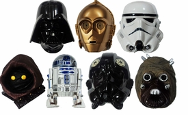 Star Wars Kotobukiya Series 1 Set of 7 Real Mask Magnets