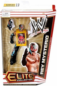 Mattel WWE Wrestling Elite Series 13 Action Figure Rey Mysterio [Hood & Booyaka 619 T-Shirt]