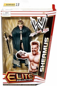 Mattel WWE Wrestling Elite Series 13 Action Figure King Sheamus [Crown, Scepter & Imperial Robe]