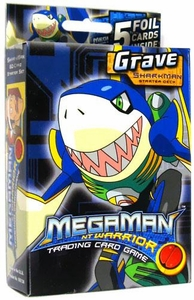 Mega Man NT Warrior Trading Card Game Grave Starter Deck Sharkman BLOWOUT SALE!